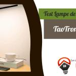 Avis lampe TaoTronics LED - TaoTronics TT-DL01